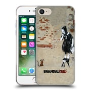 OFFICIAL BRANDALISED BANKSY TEXTURED ART Girl On A Stool Soft Gel Case for Apple iPhone 7 (C_1F9_19A42)