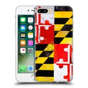OFFICIAL ARTPOPTART FLAGS Maryland Soft Gel Case for Apple iPhone 7 Plus (C_1FA_1A228)