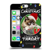 OFFICIAL GRUMPY CAT CHRISTMAS All I Want Hard Back Case for Apple iPhone 5c (9_E_1CC06)