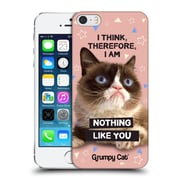 OFFICIAL GRUMPY CAT QUOTES Think Hard Back Case for Apple iPhone 5 / 5s / SE (9_D_1CC20)