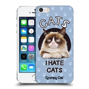 OFFICIAL GRUMPY CAT QUOTES Hate Hard Back Case for Apple iPhone 5 / 5s / SE (9_D_1CC1A)