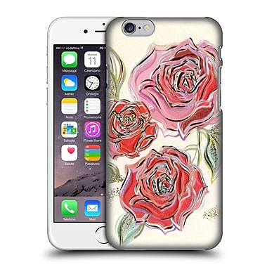 OFFICIAL TURNOWSKY BLACK DIAMONDS A Rose Is A Rose Is A Rose Hard Back Case for Apple iPhone 6 / 6s (9_F_1CE5D)