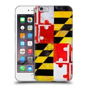 OFFICIAL ARTPOPTART FLAGS Maryland Soft Gel Case for Apple iPhone 6 Plus / 6s Plus (C_10_1A228)