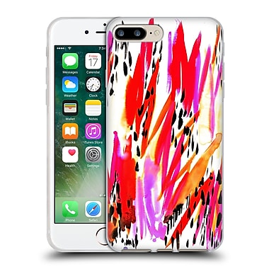 OFFICIAL AMY SIA ANIMAL PRINTS Bahamas Soft Gel Case for Apple iPhone 7 Plus (C_1FA_1AB3A)