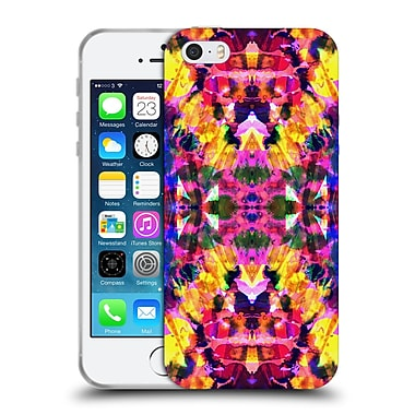 OFFICIAL AMY SIA KALEIDOSCOPE 2 Tropical Tie Dye Soft Gel Case for Apple iPhone 5 / 5s / SE (C_D_1AB6C)