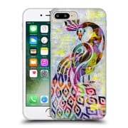 OFFICIAL ARTPOPTART ANIMALS Peacock Soft Gel Case for Apple iPhone 7 Plus (C_1FA_1A21F)