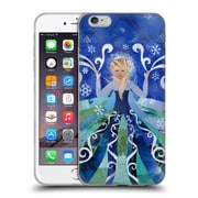 OFFICIAL ARTPOPTART POP CULTURE Ice Queen Soft Gel Case for Apple iPhone 6 Plus / 6s Plus (C_10_1A22A)