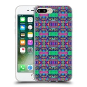OFFICIAL AMY SIA TRIBAL Patchwork Pink 2 Soft Gel Case for Apple iPhone 7 Plus (C_1FA_1AB71)