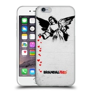OFFICIAL BRANDALISED BANKSY TEXTURED ART Angel Hearts Soft Gel Case for Apple iPhone 6 / 6s (C_F_19A44)