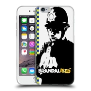 OFFICIAL BRANDALISED BANKSY WALL ART Rude Copper Soft Gel Case for Apple iPhone 6 / 6s (C_F_19A4B)