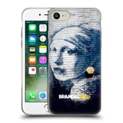 OFFICIAL BRANDALISED BANKSY TEXTURED ART Pierced Eardrum Soft Gel Case for Apple iPhone 7 (C_1F9_19A43)