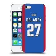 Official Crystal Palace FC 2016/17 Players Home Kit Damien Delaney Soft Gel Case for Apple iPhone 5 / 5s / SE (C_D_1E62C)