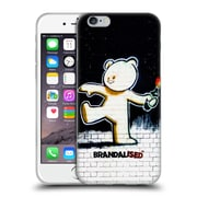OFFICIAL BRANDALISED BANKSY TEXTURED ART Molotov Teddy Soft Gel Case for Apple iPhone 6 / 6s (C_F_19A49)