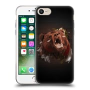 OFFICIAL ARON ART ANIMALS Bear Soft Gel Case for Apple iPhone 7 (C_1F9_1DEF4)