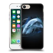 OFFICIAL ARON ART ANIMALS Dolphin Soft Gel Case for Apple iPhone 7 (C_1F9_1DEF8)