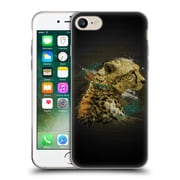 OFFICIAL ARON ART ANIMALS Cheetah Soft Gel Case for Apple iPhone 7 (C_1F9_1DEF7)