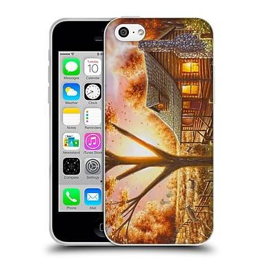 Official CHUCK BLACK CABIN Fall Memories Soft Gel Case for Apple iPhone 5c (C_E_1AE7A)