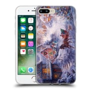 Official Christmas Mix Winter Wonderland Nicky Boehme In A One Horse Open Sleigh Soft Gel Case for Apple iPhone 7 Plus