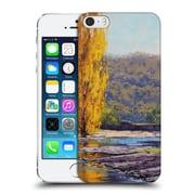 OFFICIAL GRAHAM GERCKEN AUTUMN Timut River Poplars Hard Back Case for Apple iPhone 5 / 5s / SE (9_D_1C29D)