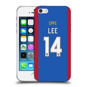 Official Crystal Palace FC 2016/17 Players Home Kit Chung-Yong Lee Soft Gel Case for Apple iPhone 5 / 5s / SE (C_D_1E62E)