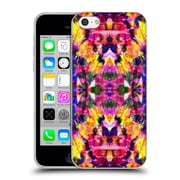 OFFICIAL AMY SIA KALEIDOSCOPE 2 Tropical Tie Dye Soft Gel Case for Apple iPhone 5c (C_E_1AB6C)