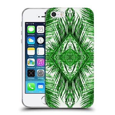 OFFICIAL AMY SIA TROPICAL Palm Green Soft Gel Case for Apple iPhone 5 / 5s / SE (C_D_1AB79)