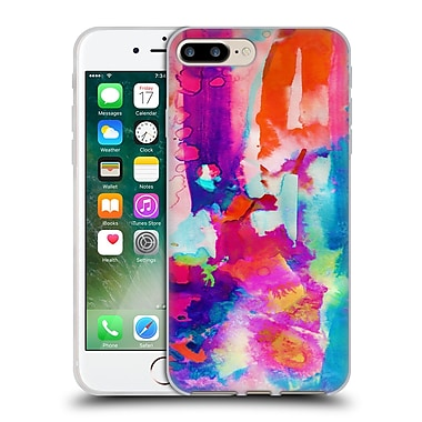 OFFICIAL AMY SIA ABSTRACT COLOURS Escape Soft Gel Case for Apple iPhone 7 Plus (C_1FA_1AB2D)