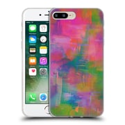 OFFICIAL AMY SIA ABSTRACT COLOURS Crystal Pony Soft Gel Case for Apple iPhone 7 Plus (C_1FA_1AB2C)