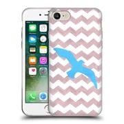 OFFICIAL ARTPOPTART CHEVRON Seagull Soft Gel Case for Apple iPhone 7 (C_1F9_1A223)
