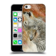 Official CHUCK BLACK CANINE Winter's First Call Soft Gel Case for Apple iPhone 5c (C_E_1AE89)
