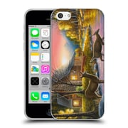 Official CHUCK BLACK CABIN River's Crossing Soft Gel Case for Apple iPhone 5c (C_E_1AE82)