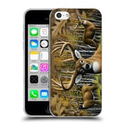 Official CHUCK BLACK DEER FAMILY Whitetail Country Soft Gel Case for Apple iPhone 5c (C_E_1AE8C)