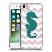 OFFICIAL ARTPOPTART CHEVRON Seahorse Soft Gel Case for Apple iPhone 7 (C_1F9_1A221)