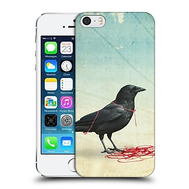 OFFICIAL VIN ZZEP BIRDS Freedom Black Crow Hard Back Case for Apple iPhone 5 / 5s / SE (9_D_1E23A)