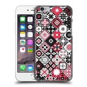 OFFICIAL GIULIO ROSSI PATCHWORK Red Hard Back Case for Apple iPhone 6 / 6s (9_F_1D8D0)
