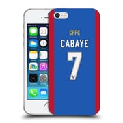 Official Crystal Palace FC 2016/17 Players Home Kit Yohan Cabaye Soft Gel Case for Apple iPhone 5 / 5s / SE (C_D_1E62B)