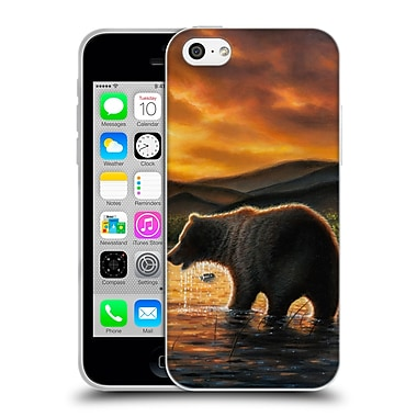 Official CHUCK BLACK WILDLIFE AND ANIMALS Persistence Soft Gel Case for Apple iPhone 5c (C_E_1AE93)