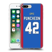 Official Crystal Palace FC 2016/17 Players Home Kit Jason Puncheon Soft Gel Case for Apple iPhone 7 Plus (C_1FA_1E625)