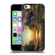 Official CHUCK BLACK CABIN The Evening Routine Soft Gel Case for Apple iPhone 5c (C_E_1AE83)