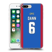 Official Crystal Palace FC 2016/17 Players Home Kit Scott Dann Soft Gel Case for Apple iPhone 7 Plus (C_1FA_1E62D)