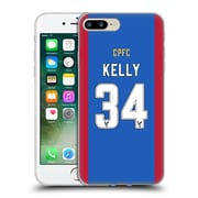 Official Crystal Palace FC 2016/17 Players Home Kit Martin Kelly Soft Gel Case for Apple iPhone 7 Plus (C_1FA_1E626)
