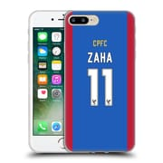 Official Crystal Palace FC 2016/17 Players Home Kit Wilfried Zaha Soft Gel Case for Apple iPhone 7 Plus (C_1FA_1E627)