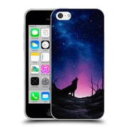 Official CHUCK BLACK CANINE Starry Nights Soft Gel Case for Apple iPhone 5c (C_E_1AE88)
