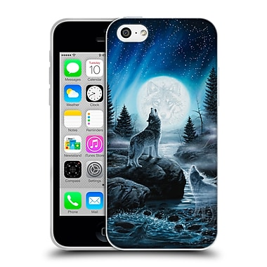 Official CHUCK BLACK CANINE Spirits of the Wild Soft Gel Case for Apple iPhone 5c (C_E_1AE87)