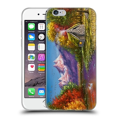 Official CHUCK BLACK CABIN Autumn's Perfection Soft Gel Case for Apple iPhone 6 / 6s (C_F_1AE78)