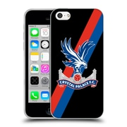 Official Crystal Palace FC The Eagles Sash Soft Gel Case for Apple iPhone 5c (C_E_1E184)