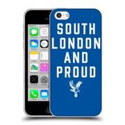 Official Crystal Palace FC The Eagles Royal Blue SLAP Soft Gel Case for Apple iPhone 5c (C_E_1E18C)