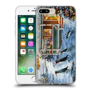 Official Christmas Mix Winter Wonderland Nicky Boehme Hey! Wait For Me Soft Gel Case for Apple iPhone 7 Plus (C_1FA_1D3A5)