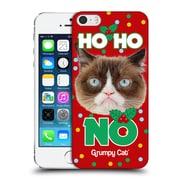 OFFICIAL GRUMPY CAT CHRISTMAS Ho Ho No Hard Back Case for Apple iPhone 5 / 5s / SE (9_D_1CC07)