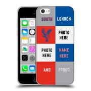 Personalized Crystal Palace FC 2016/17 South London And Proud Soft Gel Case for Apple iPhone 5c (C_E_1E73B)